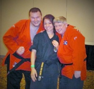 2009 Daughter Victoria with Irish Jui-Jitsu demo team in USA Chicago (3)