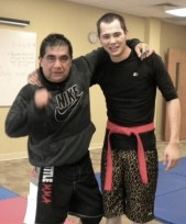 Victor-Justin after MMA workout-2011 (3)